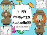 I Spy Phonemic Awareness