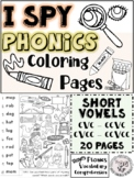 I Spy Phonics Coloring Page FREE PREVIEW