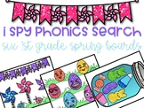 I Spy Phonics Word Search - Spring