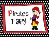 I Spy Pirates