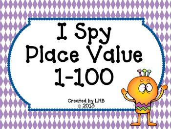I Spy ~ Place Value
