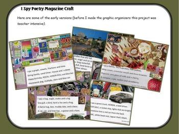 I Spy Poetry Writing and Magazine Craft