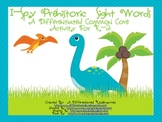 I-Spy Prehistoric Dinosaur Sight Words-Common Core Differentiated Fun
