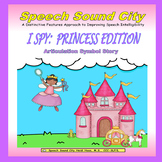 I Spy!  Princess Edition:  Articulation Symbol Story by Sp