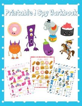 I Spy Printable Workbook