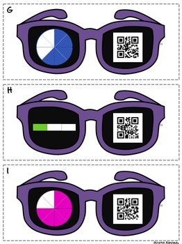 I Spy QR Codes: 8 Math Review Activities for 3rd and 4th Grade