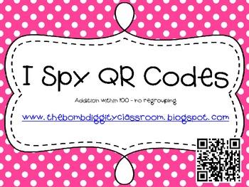 I Spy QR Codes Addition