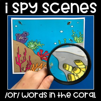 I Spy R Controlled Vowels
