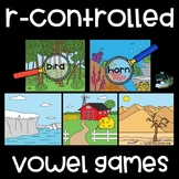 R-Controlled Vowel Game - I Spy