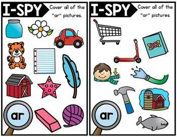 I-Spy R-Controlled Vowels