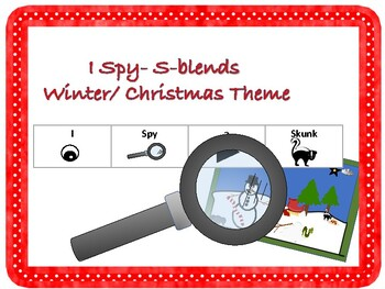 I Spy- S-Blends (Winter/ Christmas Theme)