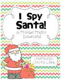 I Spy Santa {A Freebie Friday Download}