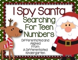 I Spy Santa Searching for Teens - Differentiated and Aligned