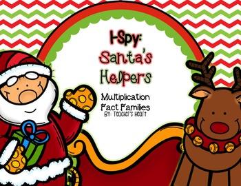 I-Spy: Santa's Helper, Multiplication Fact Families