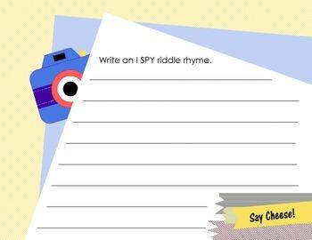 I Spy Scrapbook Project