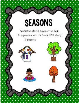I Spy Seasons