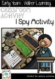 I Spy Sensory Activity