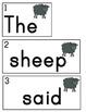 I Spy Sentences About The Farm!