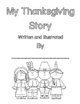 I Spy Sentences! Thanksgiving Write the Room Book Building Activity