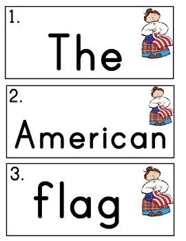 I Spy Sentences about the U.S.A!  Write the Room Book Building Activity
