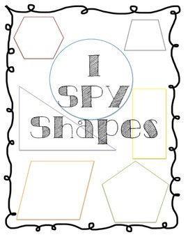 I Spy Shapes