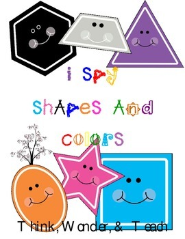 I Spy Shapes and Colors
