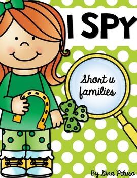Short U Literacy Station: I Spy