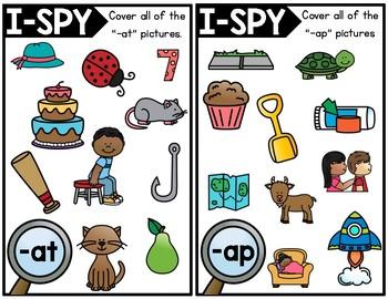 I-Spy Short Vowels