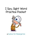 I Spy... Sight Word Practice Pack