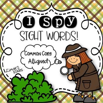 I Spy Sight Words!