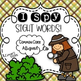 I Spy Sight Words! {Distance Learning}