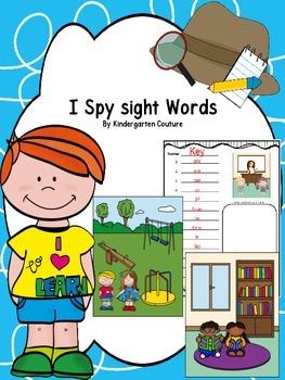 I See Tiny Sight Words
