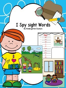 I Spy Sight Words