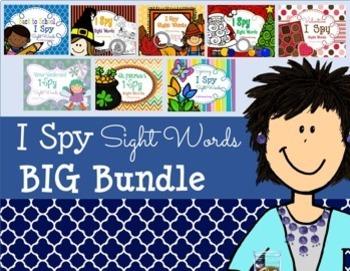 I Spy Sight Words ~BIG BUNDLE!