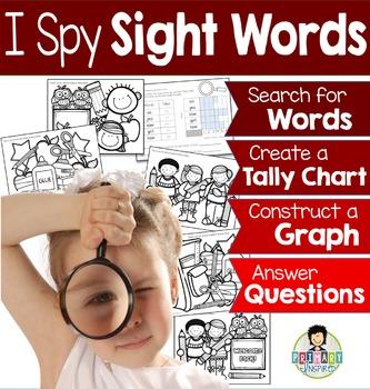 I Spy Sight Words ~Back to School Edition~