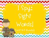 I Spy Sight Words Bundle (1st Grade Reading Street HFW) - Color & BW Versions