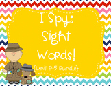I Spy Sight Words Bundle (1st Grade Reading Street HFW) -