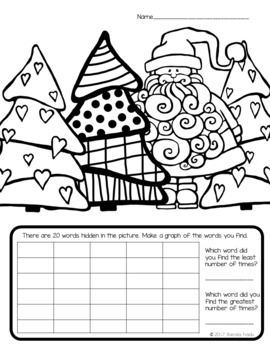 I Spy Sight Words ~Christmas~ CUSTOMIZABLE!