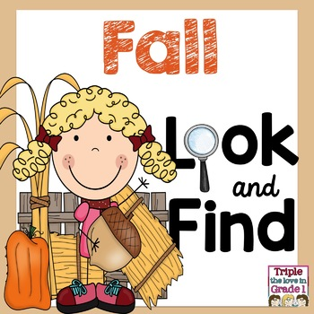 """I Spy"" Sight Words - Fall Edition"