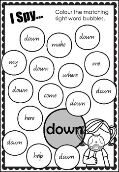 I Spy... Sight Words - Pre Primer Edition