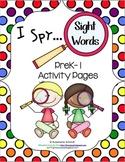 I Spy Sight Words PreK-1