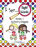 I Spy Sight Words PreK-1