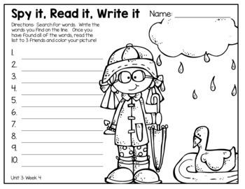 I Spy Sight Words: Second Grade Edition