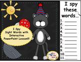 I Spy Sight Words Interactive Bundle