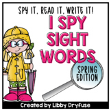 I Spy Sight Words {Spring}