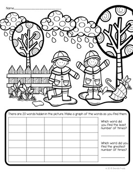 I Spy Sight Words ~Spring Edition~