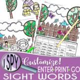 I Spy Sight Words ~Spring Edition~