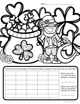 I Spy Sight Words ~St. Patrick's Day Edition~