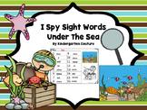 I See Tiny Sight Words -Under The Sea