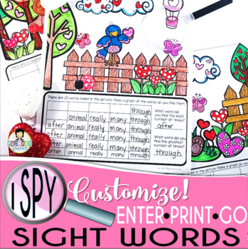 I Spy Sight Words ~Valentine Edition~